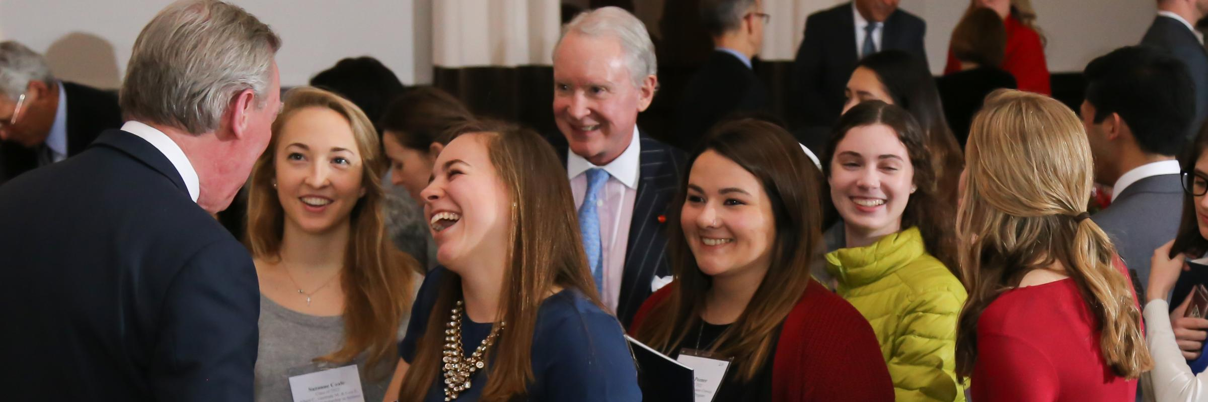 Scholarship students excited to meet President Garvey