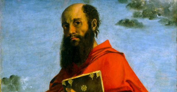 Painting of Saint Paul by Bartolomeo Montagna
