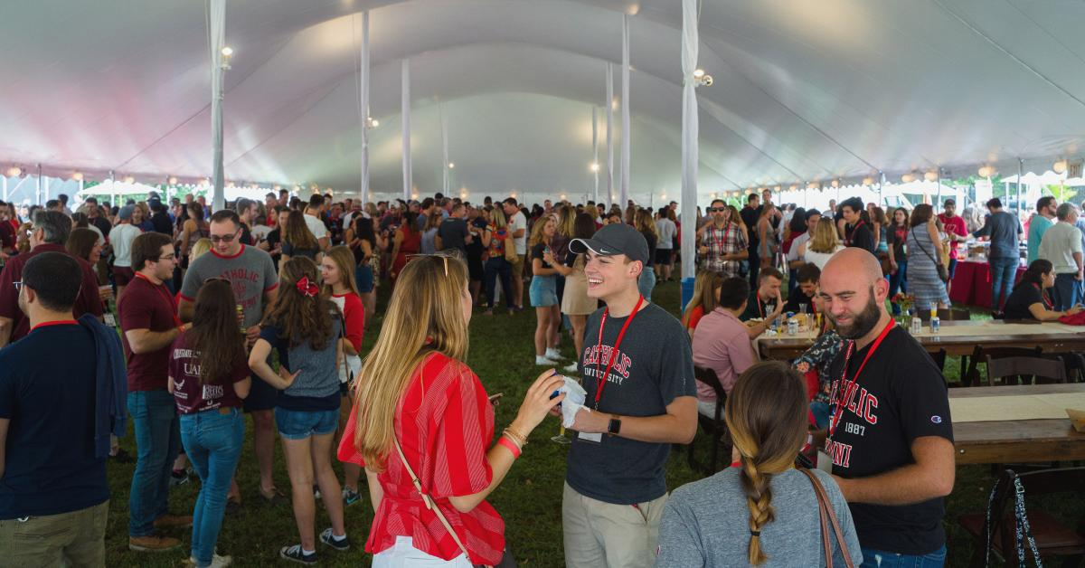 Cardinal Weekend Tent Party