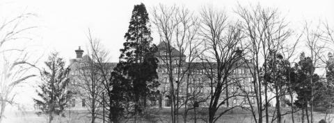 Archival image of Caldwell Hall